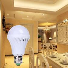E27 7W 220V Sound Light Sensor LED Bulb Auto PIR Motion Detection White Lamp