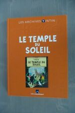 LES ARCHIVES TINTIN - HERGE - le TEMPLE du SOLEIL - TBE