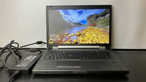 HP EliteBook 8770w Workstation i7-3940XM 3.0GHz 32GB 240GB SSD Win 10 Pro Webcam