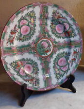 CHINE  ancienne assiette famille verte vintage pas vase