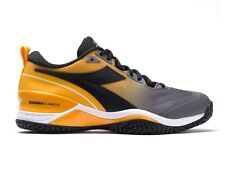 SCARPE TENNIS UOMO DIADORA  101 176940 C9213  SPEED BLUSHIELD 5 AG ZAFFERANO/NER