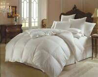 Luxury Goose Feather & Down Duvet Quilt 10.5 Tog Bedding All Sizes Hotel Quality