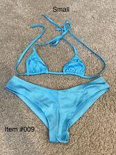 Exotic Dancewear Booty Short  Sets Light Blue Club wear