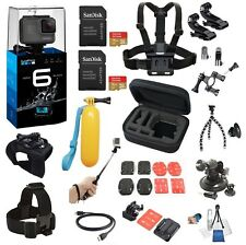 GoPro Hero 6 BLACK with 24 piece ultimate bundle *Brand New*