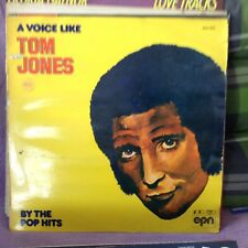 "vinyle  THE POP HITS ""A VOICE LIKE TOM JONES"" 3078 - LP 33 T"