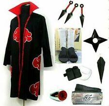 Naruto Itachi Uchiha Cosplay Costume White Shoes Whole set uniform UK
