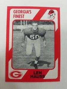 Len Hauss Georgia Bulldogs UGA Dawgs 89 Collegiate Collection Jesup GA Wayne Co.