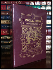 The Jungle Book by Rudyard Kipling Easton Press New Leather Bound Limited 1/800
