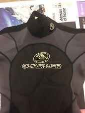 QuickSilver Full WetSuit Surf Scuba Neoprene Suit Size M Medium 50% OFF