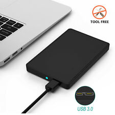 "2.5"" USB 3.0 SATA HDD Hard Drive Disk External Case Enclosure for 9.5mm 7mm SSD"