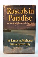 Rascals in Paradise James Michener Inscribed 1st Printing Hardback Jacket 1957