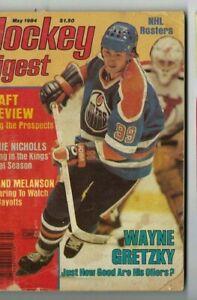 1984 MAY Hockey Digest magazine Wayne Gretzky Edmonton Oilers FAIR NO LABEL
