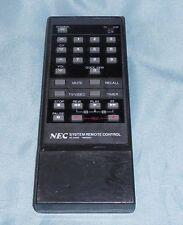 NEC RC-1041E TV VCR Remote Control Tested Free Shipping