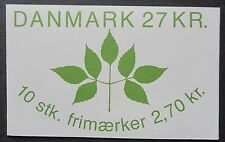Denmark 1984 Plant a Tree Campaign Booklet. MNH.