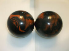 """Duckpin Balls/REFINISHED/Epco Paramount's/2 Ball Set/ 5"""" /3lbs 10.50oz/Mint Cond"""