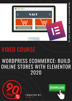 WordPress Ecommerce: Build online stores with Elementor 2020 video training