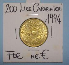 200 LIRE  1994 FDC CARABINIERI (2) DA ROTOLINO SIGILLATA OBLO' COMPRA SUBITO