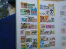 Animals Worldwide. Private sale of 42 different Stamps with som high Values.