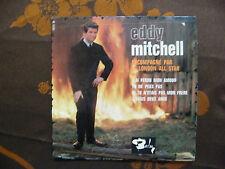 """EP EDDY MITCHELL  """"J'ai perdu mon amour""""+3  Barclay 70 771  Sans Languette"""