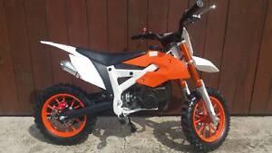 Pocketbike Crossbike Dirtbike Mini Bike 706 Kinder Motorrad Pocketcross Orange