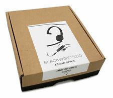 Plantronics Blackwire 5210 C5210 Mono UC USB-A Headset w/ 3.5mm Mini Phone Plug