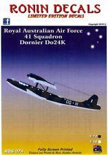 Ronin Decals 1/48 DORNIER Do-24K Royal Australian Navy 41 Squadron