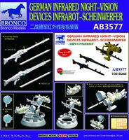 Bronco AB3577 1/35 German Infrared Night-Vision Devices Infrarot Scheinwerfer