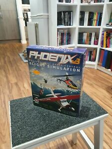 Phoenix RC Flight Simulator including usb dongle to transmitter cable