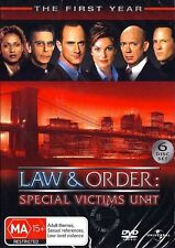 Law And Order SVU : SEASON 1 : NEW DVD