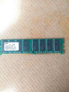 Samsung DDR1 512MB 400Mhz CL3 Desktop Memory