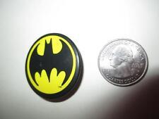 Vintage Button Pinback Badge Rare Batman Symbol DC Comics