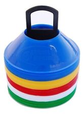 World Sport MINI SMALL DISC CONES Multi Color W/STAND AGILITY TRAINING SOCCER