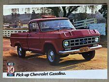1981 Chevrolet C10 Pick-up (Pickup) original Brazilian sales brochure