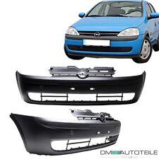 Opel Corsa C Stoßstange vorne 00-03 Combo 00-11 + Grill EU-WARE ABS+5j. GARANTIE
