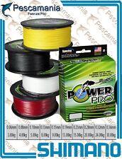 Trecciato Power PRO 4 Verde multifibra 150 Yards  -  135mt dynema braided