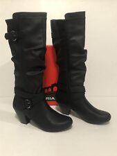 Rialto CRYSTAL Dress Boots Black 8.5M Retail $79