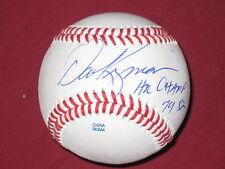 "BASEBALL LEGEND DAVE KINGMAN AUTO BALL INSCRIBED "" H. R. CHAMP 79, 82"" W/COA"