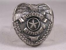 Blue Hats Of Bravery-Vanmark 'Pewter Finish Police Box' Badge  #VPE2089168  NIB