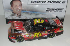 "2013 #16 Greg Biffle 3M ""Copper"" New 1/24 Scale Diecast"