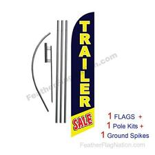 Trailer Sale 15 Feather Banner Swooper Flag Kit With Polespike