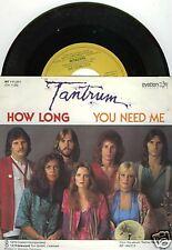 "TANTRUM How Long 7""-Single"
