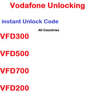 Unlock Code Ultra 7 mini 7 Turbo 7 V200 VFD200 V300 V500 V700 V695 V795 instant