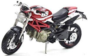 "VERY RARE!!!  ""Nicky Hayden Edition"" Ducati Monster 796 1:12 Replica"