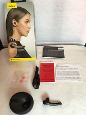 JABRA ECLIPSE Wireless Bluetooth Headset Black HD Voice With All  Accessories