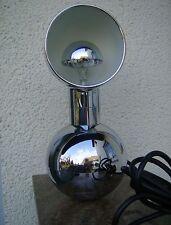 "60r/70r Space Age vintage Moon lamp - ""levántate lámpara"" - cromo kugelfuß lámpara"