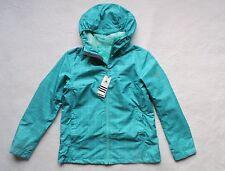 NEW Adidas Climaproof Women's Fashion Rain Jacket, Green, Size: L