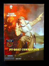 "GI Joe 12"" Inch PT Boat Commander Figure New Hasbro Toys"