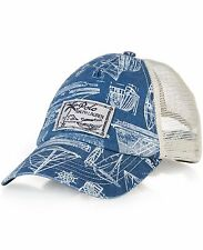 Polo Ralph Lauren Men's Nautical Trucker Mesh Cap