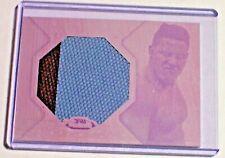 2012 Finest Jumbo Mat Relic Magenta Printing Plate 1/1 Pat Barry UFC Glory K-1