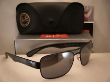c1a75ff542 Ray Ban RB3522 (RB3522-006 82 61) Matte Black with Gray Mirror